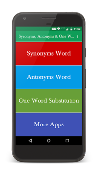 Synonyms, Antonyms & One Word Substitution pc screenshot 1