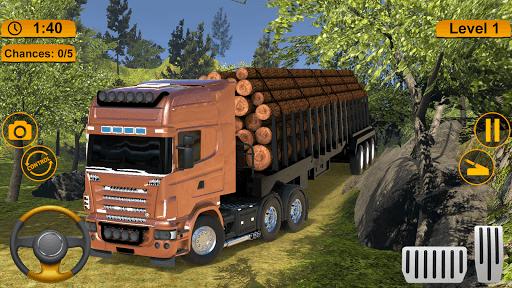 Off-road Cargo Truck Simulator PC screenshot 1