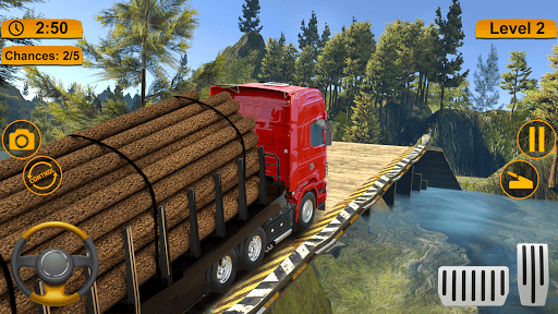 Off-road Cargo Truck Simulator PC screenshot 2