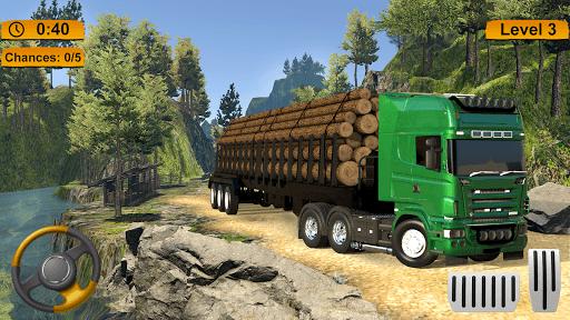 Off-road Cargo Truck Simulator PC screenshot 3