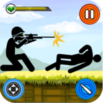 Stickman vs Stickman : Shotgun Shooting icon