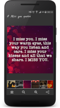 I Miss You Quotes & Romantic I Love You Sayings pc screenshot 1