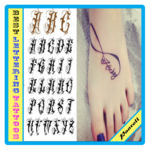 best lettering tattoos icon