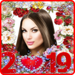 Happy New Year Photo Frame 2019 for pc logo