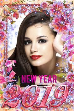 Happy New Year Photo Frame 2019 pc screenshot 1