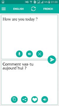 French English Translator pc screenshot 1