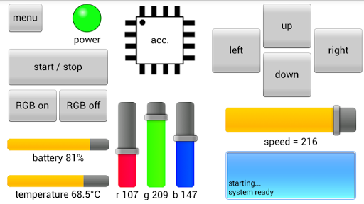RoboRemoFree Arduino Bluetooth pc screenshot 1