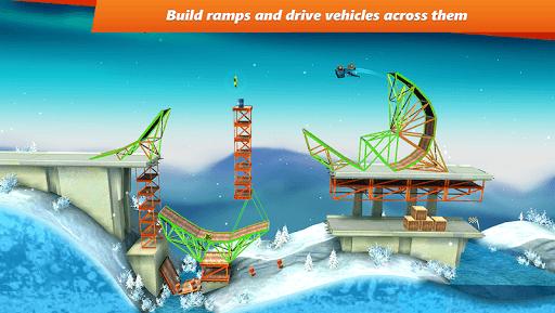 Bridge Constructor Stunts FREE pc screenshot 1