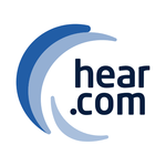 The official hear.com app icon