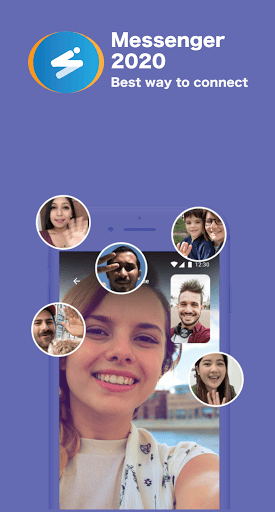 New Messenger 2021- Free messages and Video Call pc screenshot 1