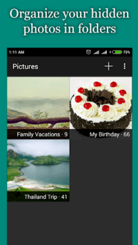 Hide Photos, Video-Hide it Pro pc screenshot 1