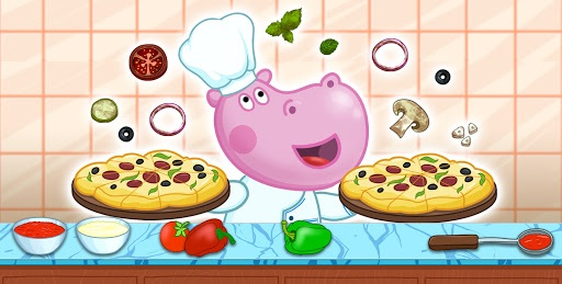 Pizza maker. Cooking for kids pc screenshot 1