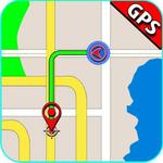 GPS Navigation, Road Maps, GPS Route tracker App icon