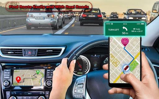 GPS Navigation, Road Maps, GPS Route tracker App PC screenshot 1