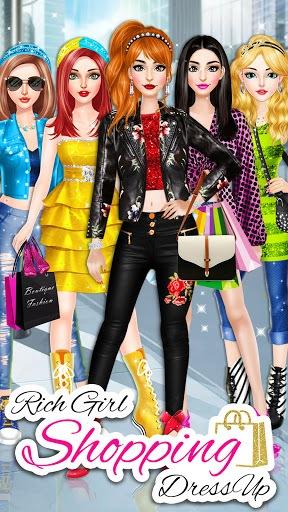 Rich Girl Shopping Dress Up: Fashion Game PC screenshot 2