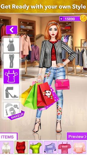 Rich Girl Shopping Dress Up: Fashion Game PC screenshot 3