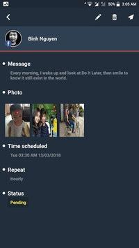 Do It Later - Message Scheduler pc screenshot 1