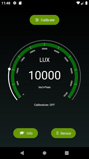 PPFD Meter | Plant Grow Light Meter | LUX DLI pc screenshot 1