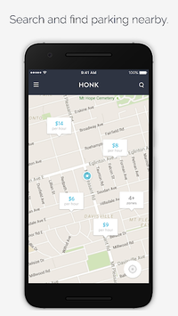HonkMobile: Find & Pay for Parking pc screenshot 1