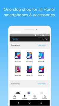 Honor Store pc screenshot 1