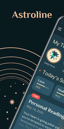 Daily horoscope, palmistry, numerology - Astroline PC screenshot 1