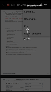 HP Print Service Plugin pc screenshot 2