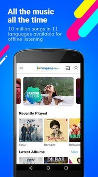 Hungama Music - Songs, Radio & Videos pc screenshot 1