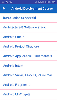 Learn Android App Development: Tutorials pc screenshot 1