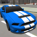 Race Car Driving 3D icon