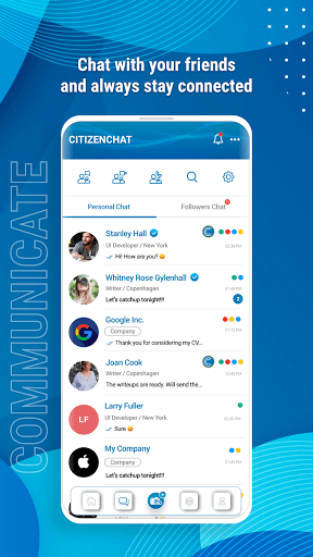 CitizenChat - Connect, Chat, Short Videos & Images pc screenshot 1