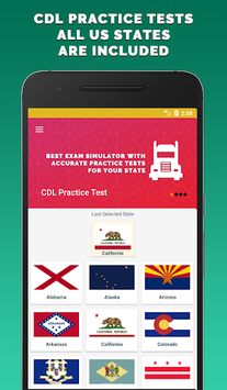 CDL Practice Test 2018 pc screenshot 1