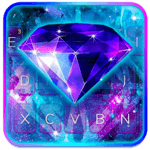 Galaxy Sparkle Keyboard Theme icon