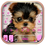 Cute Tongue Cup Puppy Keyboard Theme icon