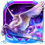 Dreamy Wing Unicorn Keyboard Theme icon