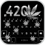 Metal Weed 420 Keyboard Theme icon