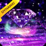 Luxury Diamond keyboard - 3D Live icon