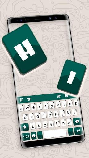 Sms Chatting New Keyboard Theme pc screenshot 1