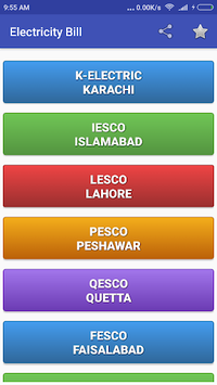Electricity Bill Checker Pakistan pc screenshot 1