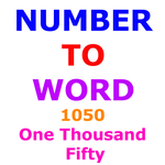 Number to Word Converter icon