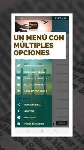 Biblia Reina Valera en español + Devocional de hoy PC screenshot 1