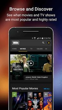 IMDb Movies & TV pc screenshot 1