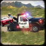 Offroad Police 4x4 Tow Truck Trailer Rescue icon