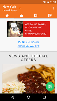 inCust universal loyalty card pc screenshot 1
