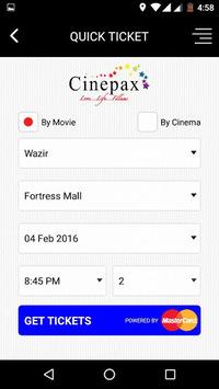 Cinepax - Buy Movie Tickets pc screenshot 2