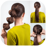 Easy Hairstyles step by step DIY icon