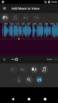 Add Music to Voice pc screenshot 2
