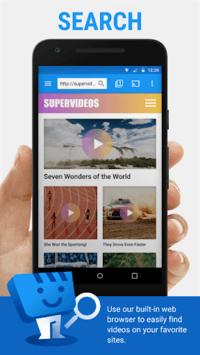 Web Video Cast | Browser to TV (Chromecast/DLNA/+) pc screenshot 1