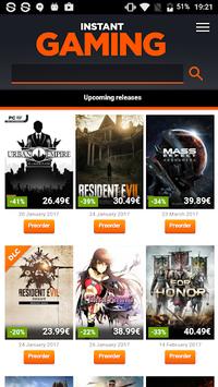 Instant Gaming pc screenshot 1