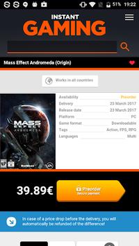 Instant Gaming pc screenshot 2
