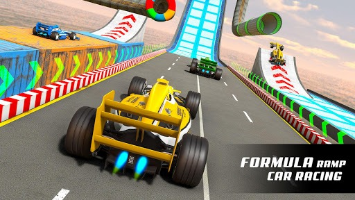 Formula Car Stunt Games- Mega Ramp Stunt Car Games pc screenshot 1